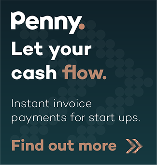 Let your cash flow. Instant invoice payments for startups.